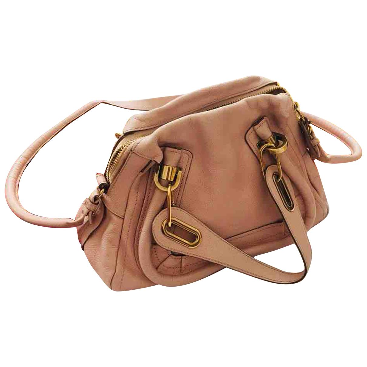 Chloe Paraty Handtasche in  Rosa Leder
