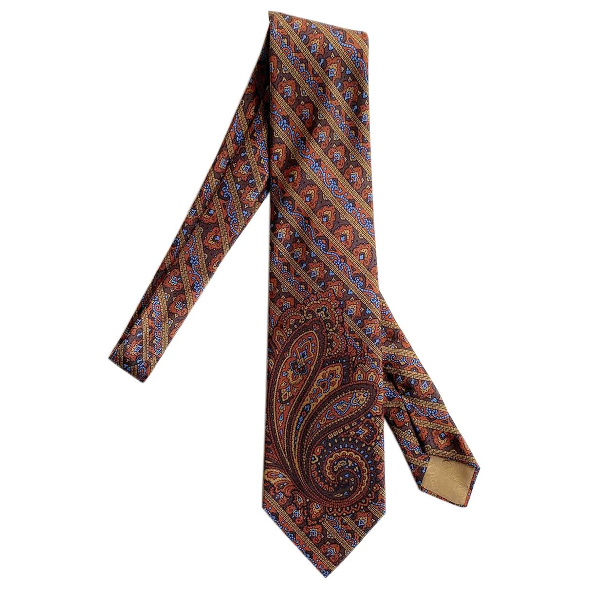 Dior - Cravates   pour homme en soie - dore