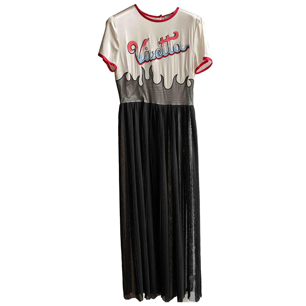 Vivetta \N Kleid in  Schwarz Polyester