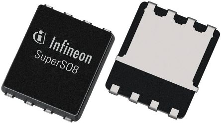 Infineon N-Channel MOSFET, 100 A, 25 V, 8-Pin SuperSO  BSC009NE2LS5IATMA1 (5000)