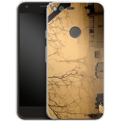 Google Pixel Silikon Handyhuelle - Paris von caseable Designs