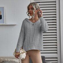 Jersey con capucha con cordon
