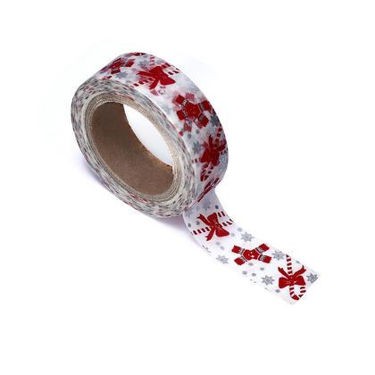 Washi Tape Christmas Ornament Pattern, 15mmX10m 1Pc - LIVINGbasics™