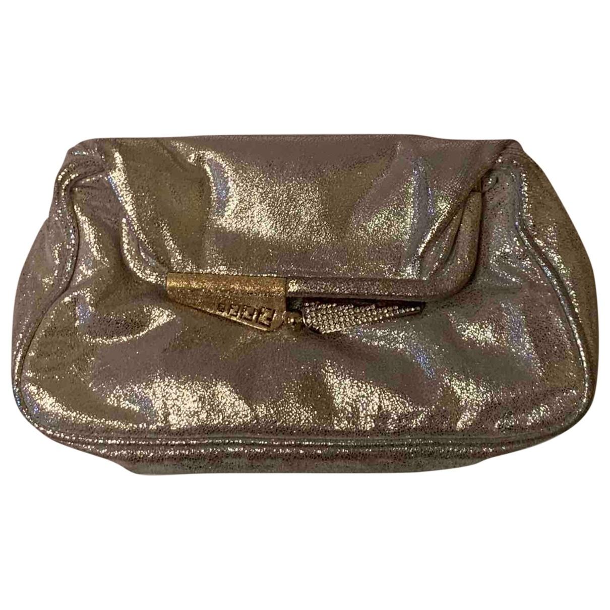 Fendi \N Silver Suede Clutch bag for Women \N