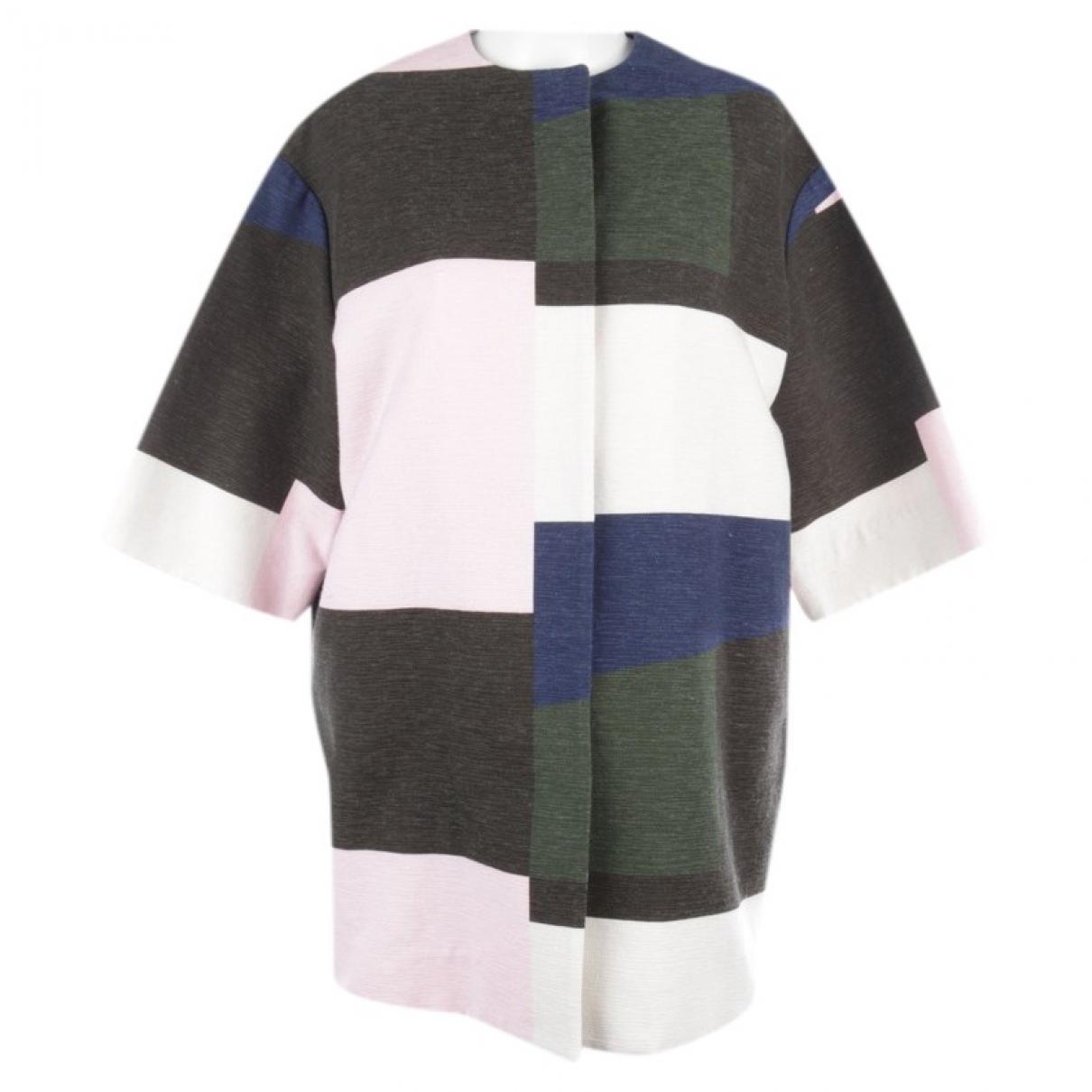 Msgm - Veste   pour femme en coton - multicolore