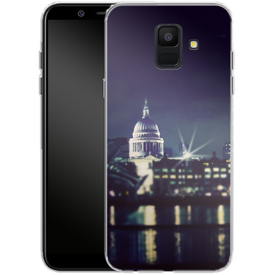 Samsung Galaxy A6 Silikon Handyhuelle - Thames von Ronya Galka
