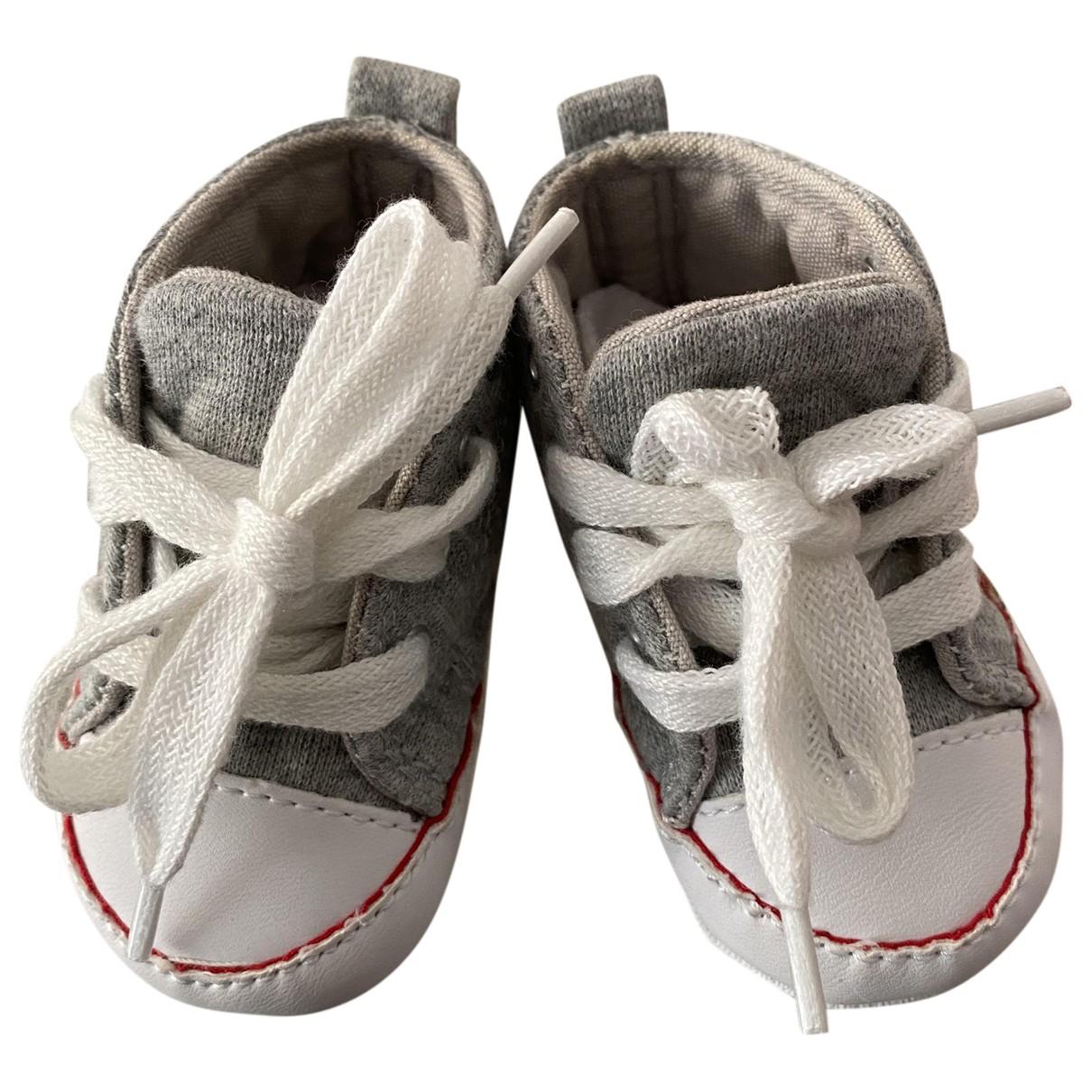 Converse - Baskets   pour enfant en toile - gris
