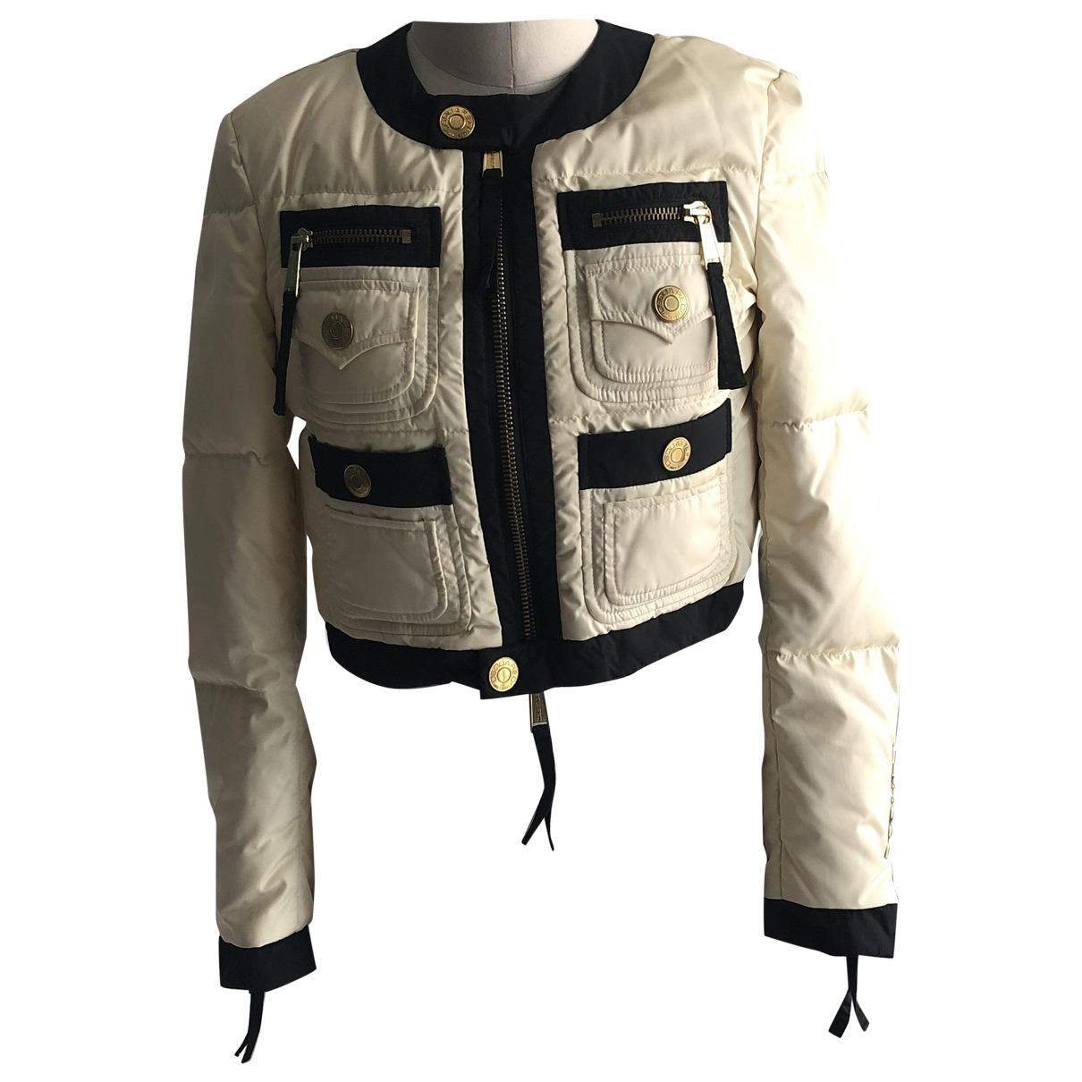 Dsquared2 \N White coat for Women 40 IT