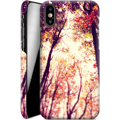 Apple iPhone XS Smartphone Huelle - Above and Beyond von Joy StClaire