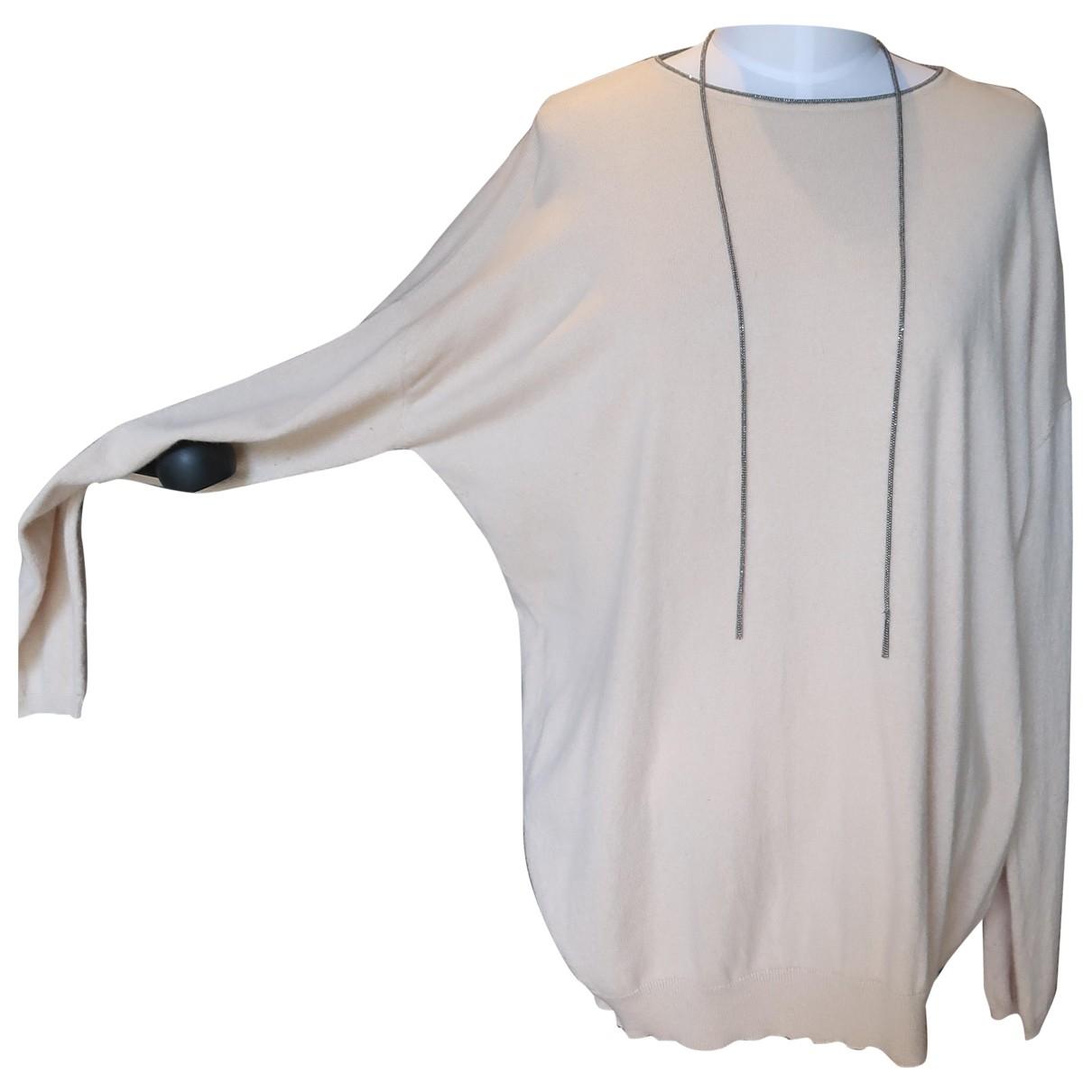 Brunello Cucinelli N Pink Cashmere Knitwear for Women XXXL International