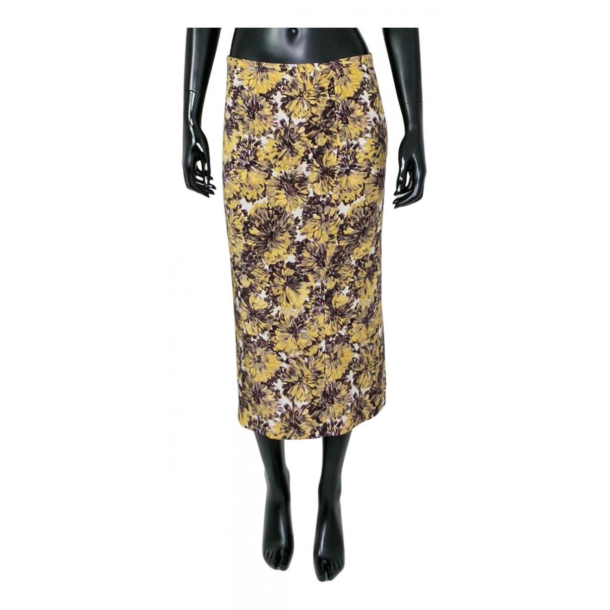 Rochas N Yellow skirt for Women 40 FR