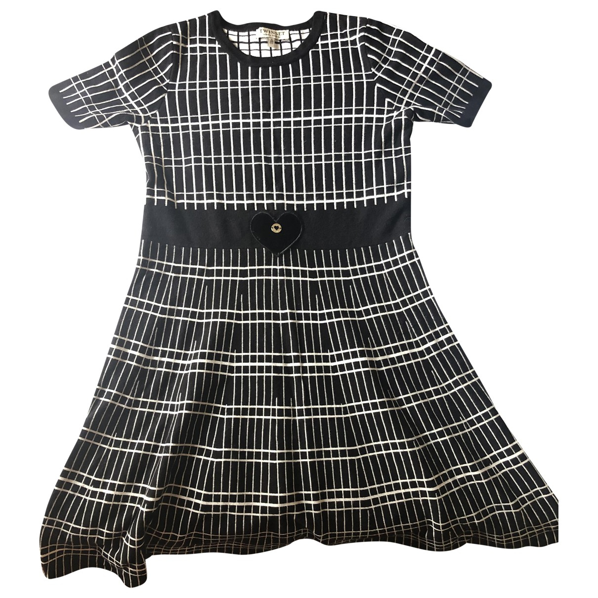 Twin Set \N Black dress for Kids 16 years - M FR