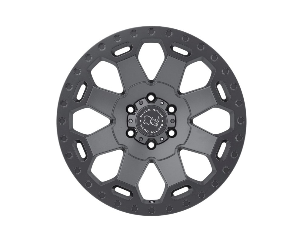 Black Rhino Warlord Matte Gunmetal Wheel 20x9 6x120 12mm CB67.1