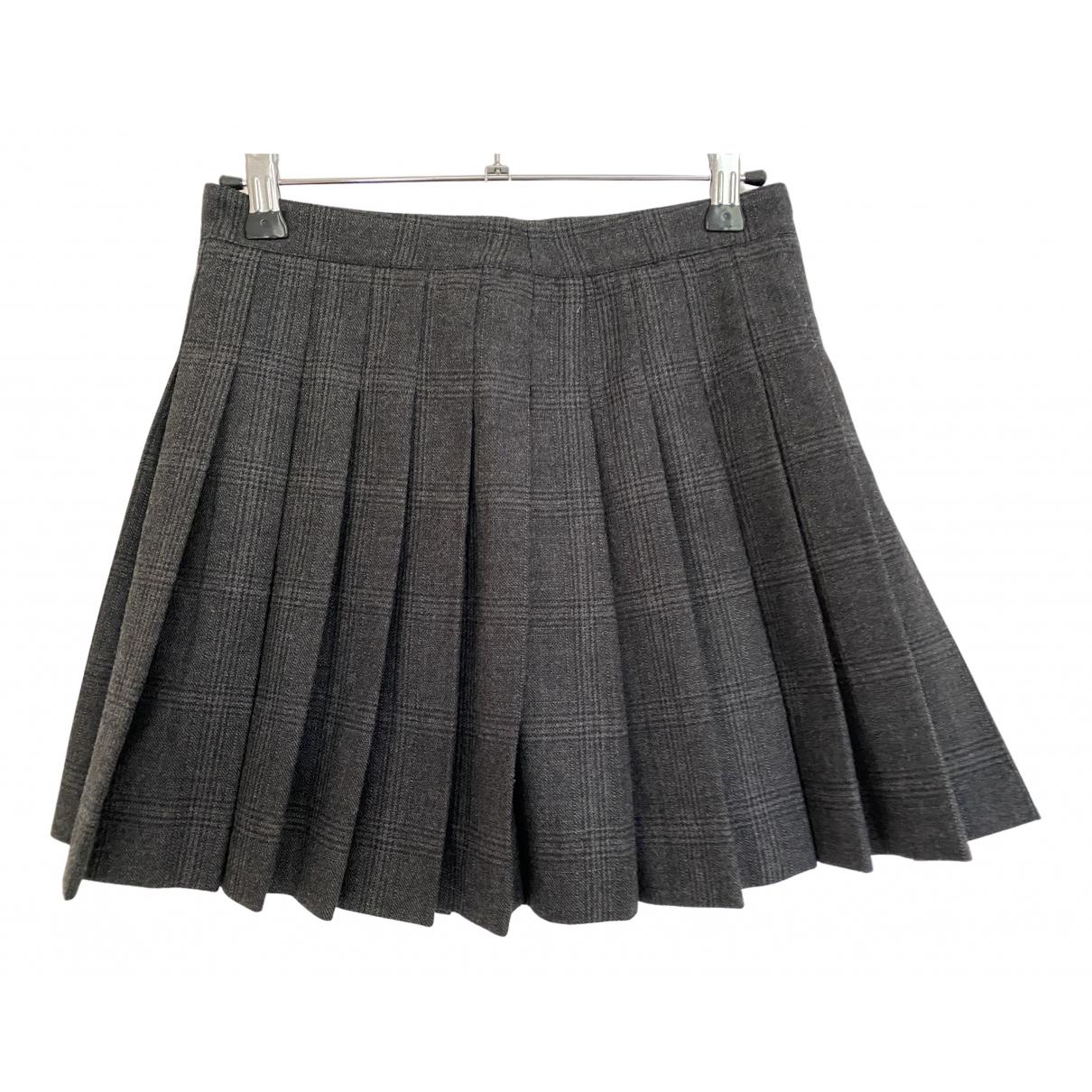Dsquared2 - Jupe   pour femme en laine - gris