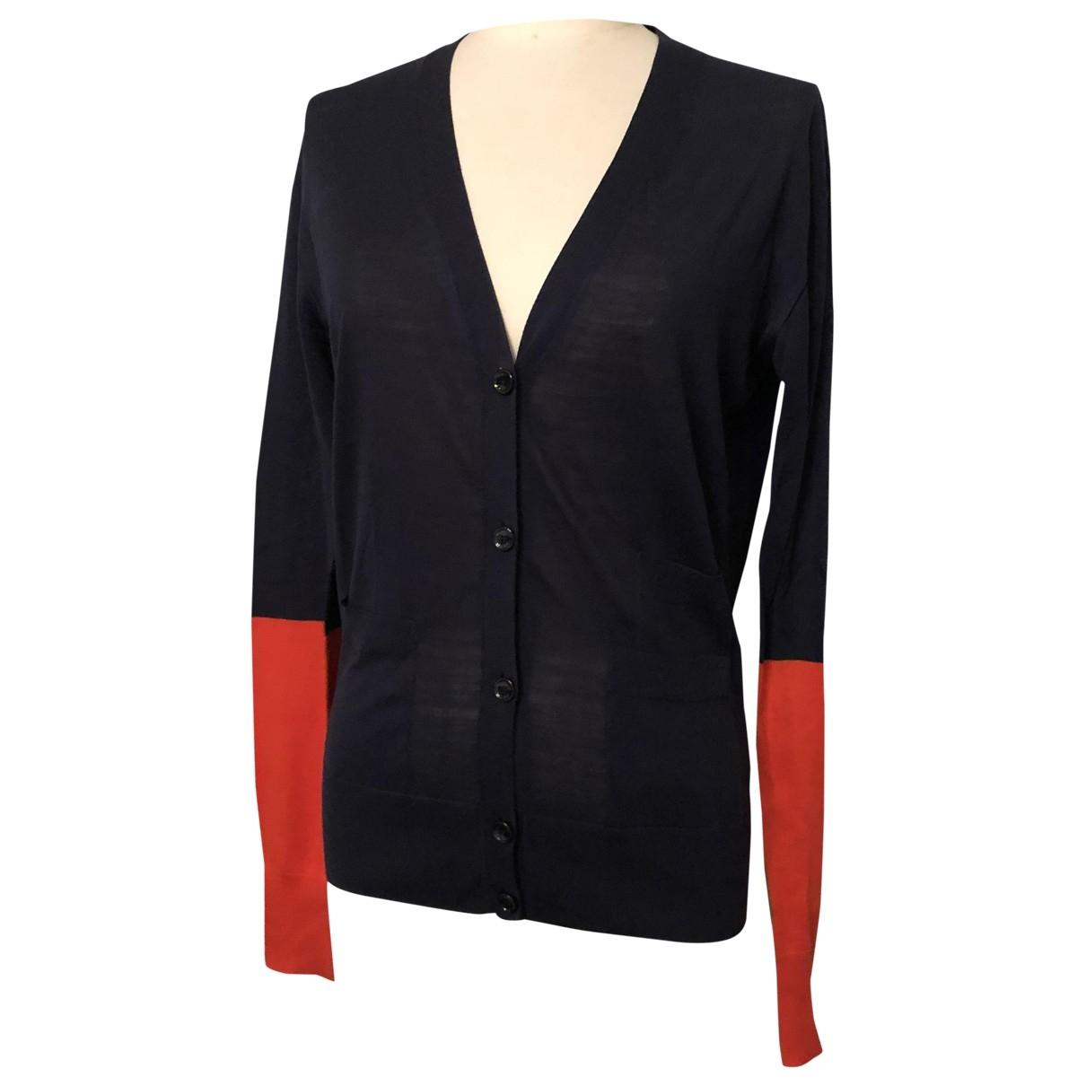 Celine - Pull   pour femme en laine - marine