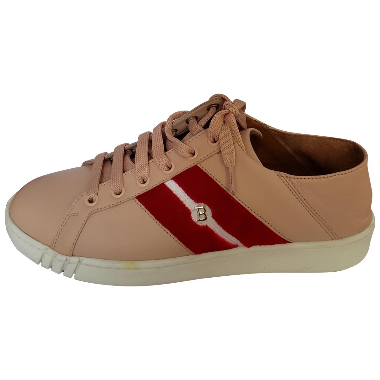 Bally \N Sneakers in  Rosa Leder
