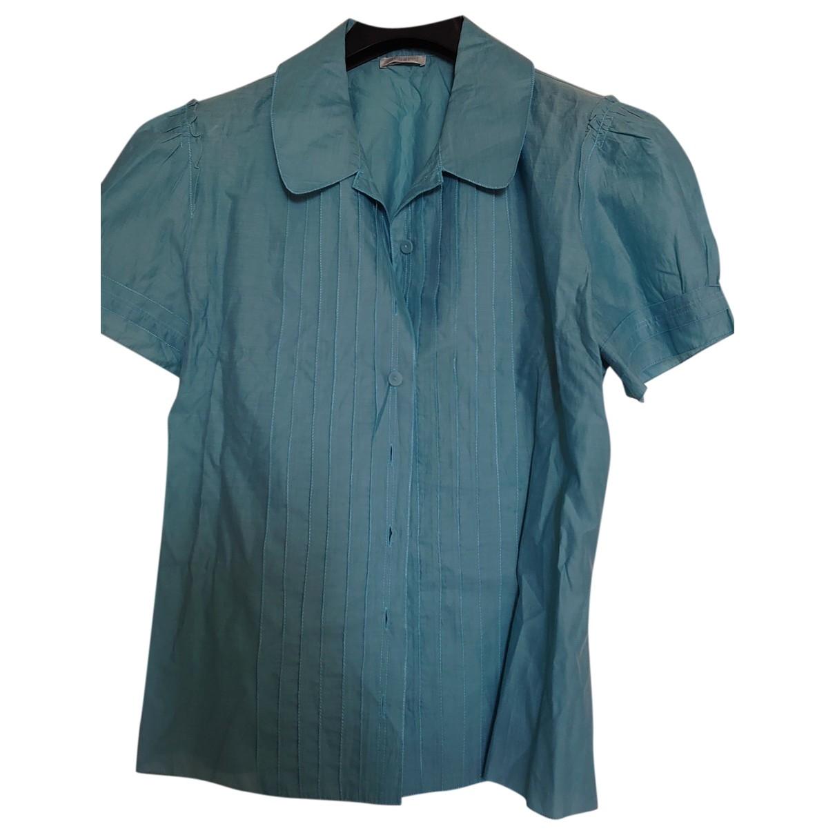 Cacharel \N Top in  Blau Baumwolle
