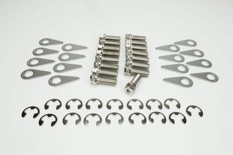 Kooks BK102 Stage 8 Header Bolt Kit - 16) M8 - 1.25 x 25mm Bolts and Locking Hardware