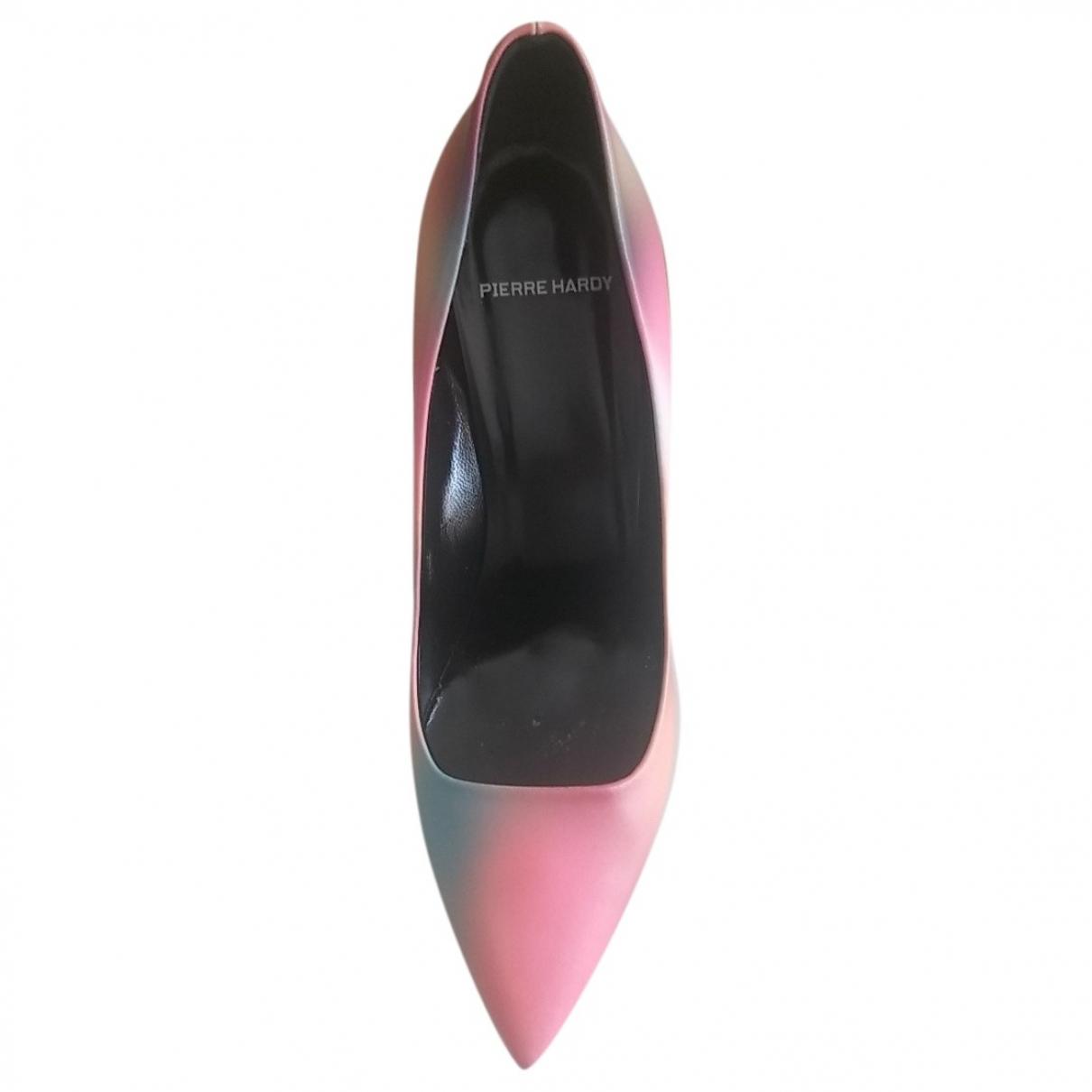Pierre Hardy - Escarpins   pour femme en cuir - multicolore
