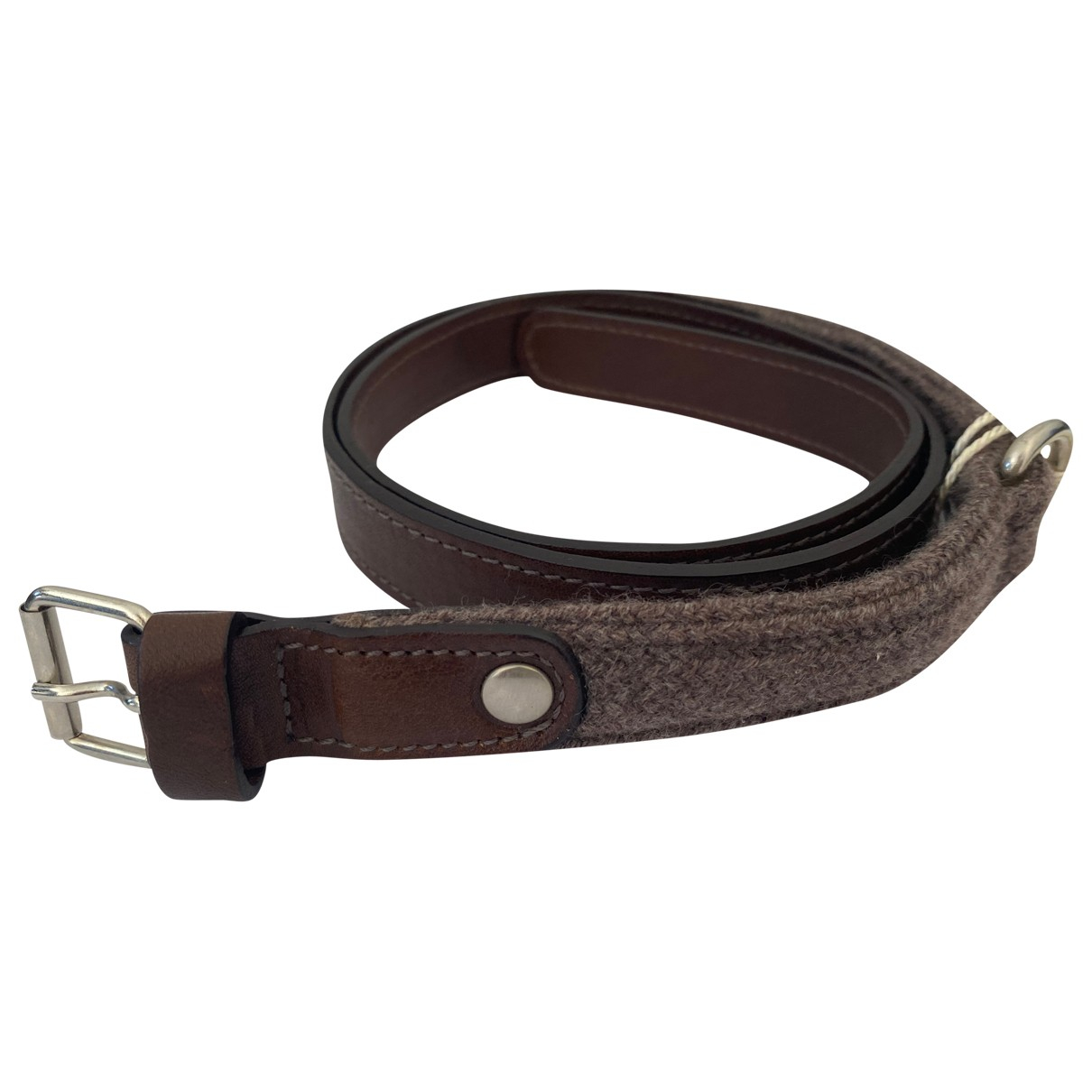 Brunello Cucinelli \N Brown Leather belt for Women S International