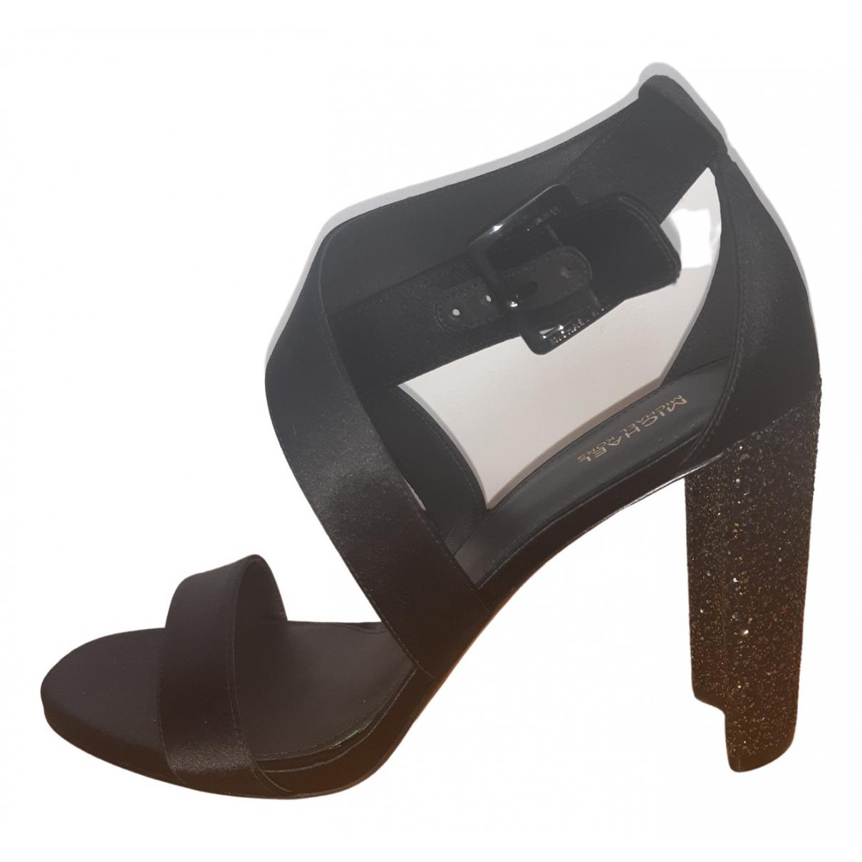 Michael Kors \N Black Velvet Sandals for Women 40 EU