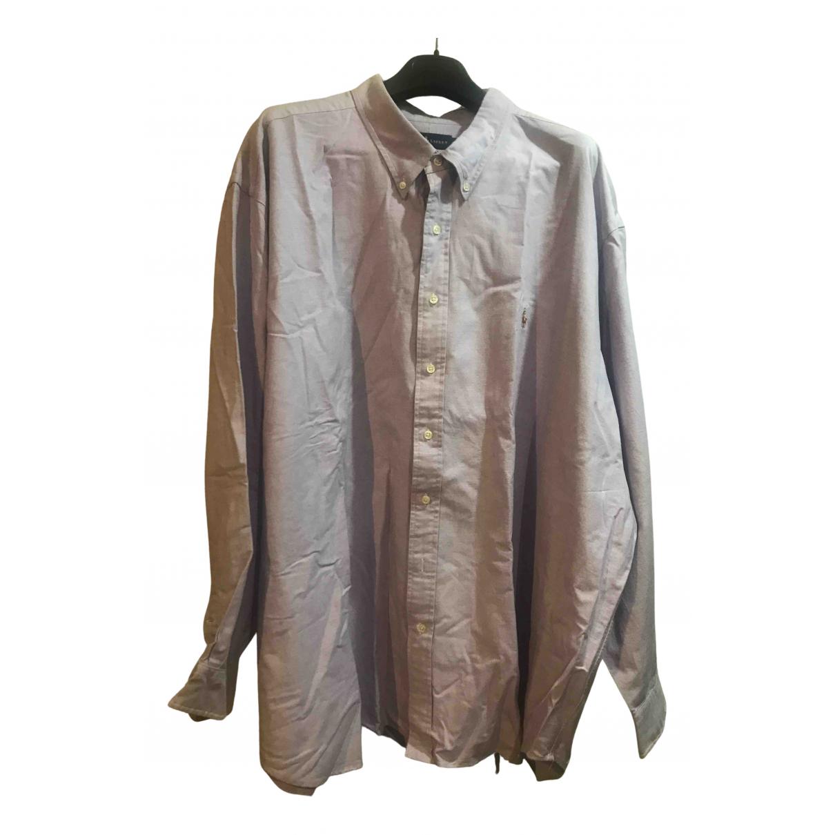Polo Ralph Lauren - Chemises   pour homme en coton - violet