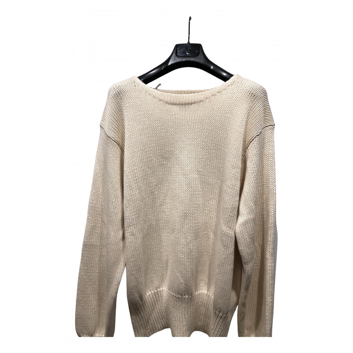 Polo Ralph Lauren \N Pullover.Westen.Sweatshirts  in  Ecru Baumwolle
