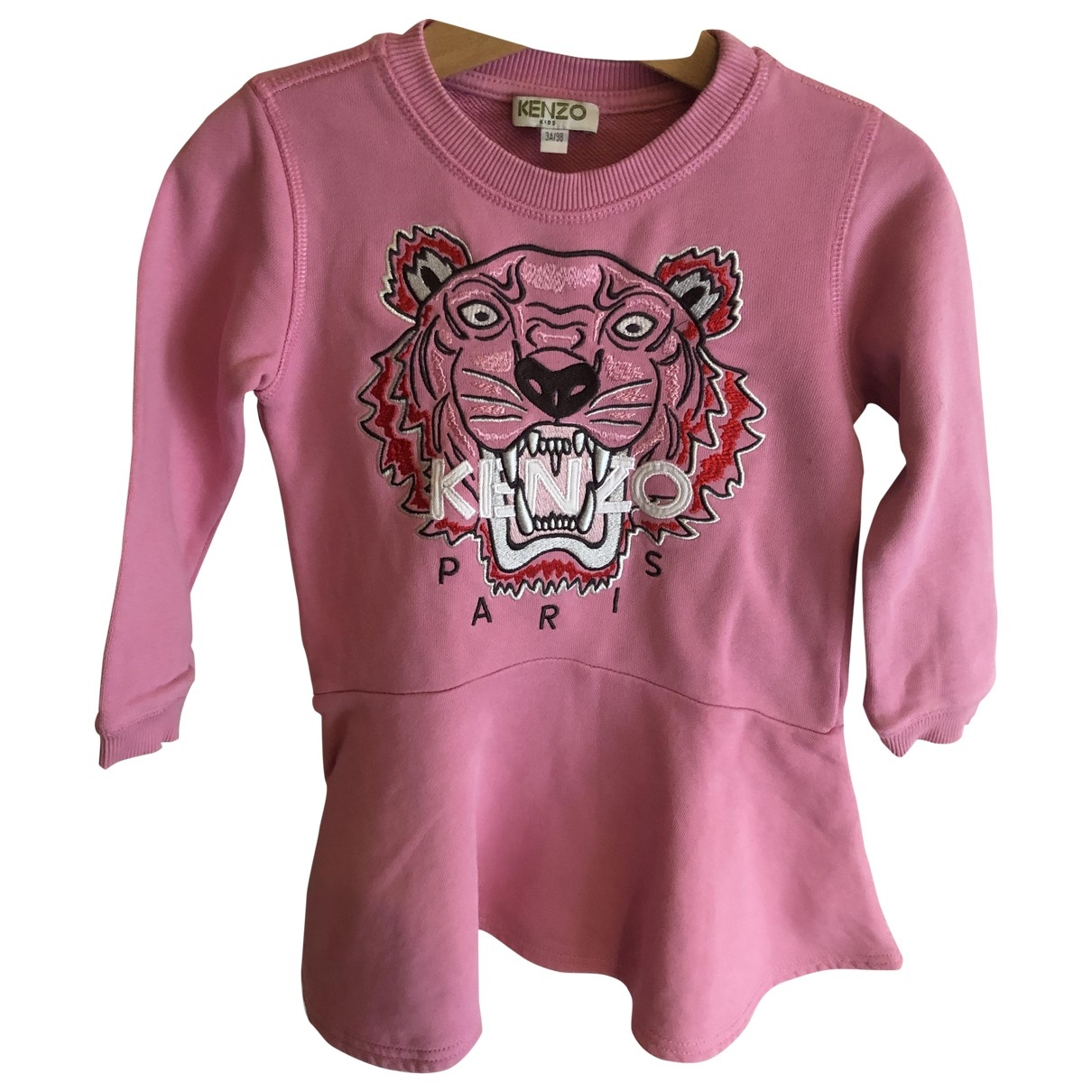 Kenzo \N Pink Cotton dress for Kids 3 years - up to 98cm FR