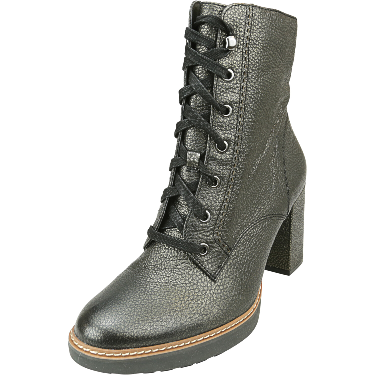 Naturalizer Women's Callie Bronze Ankle-High Leather Boot - 9.5W