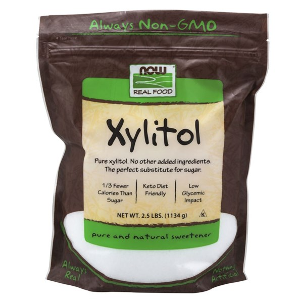 Xylitol 2.5 lb by Now Foods