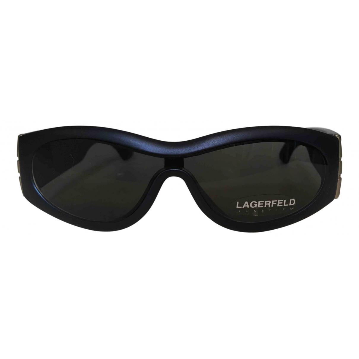 Karl Lagerfeld \N Sonnenbrillen in  Blau Kunststoff