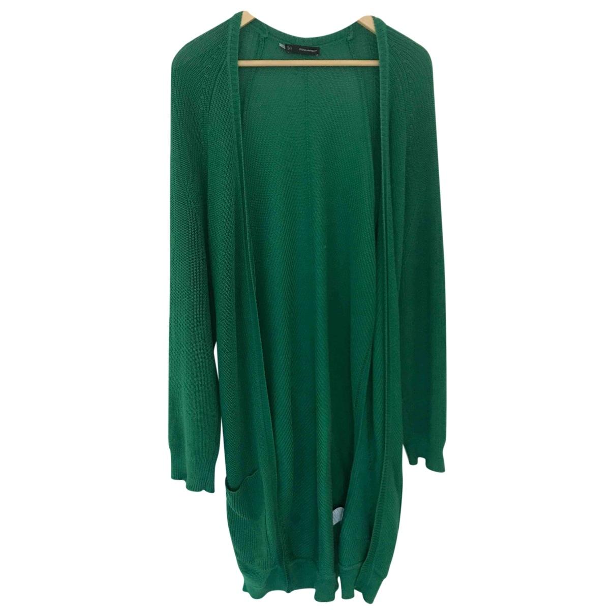 Dsquared2 - Pull   pour femme en coton - vert