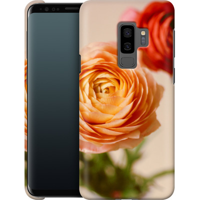Samsung Galaxy S9 Plus Smartphone Huelle - She Loved Flowers von Joy StClaire