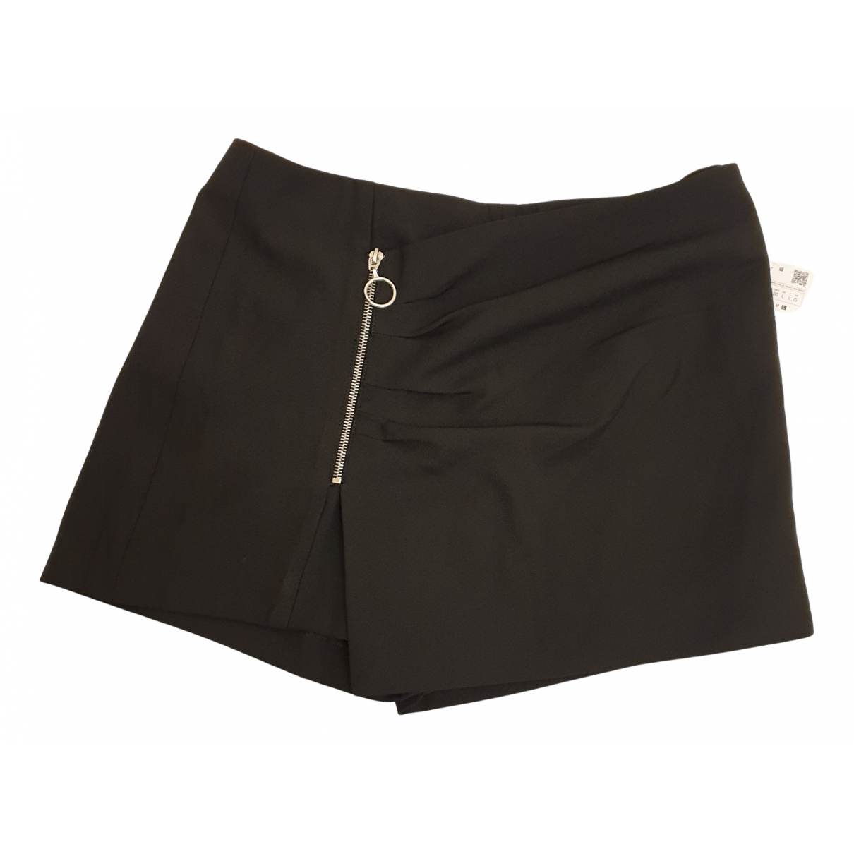 Bermudas en Poliester Negro Zara