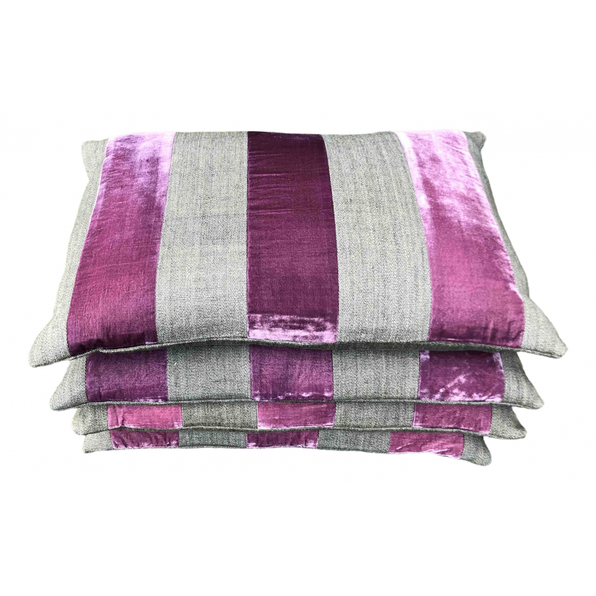 Non Signé / Unsigned \N Purple Textiles for Life & Living \N