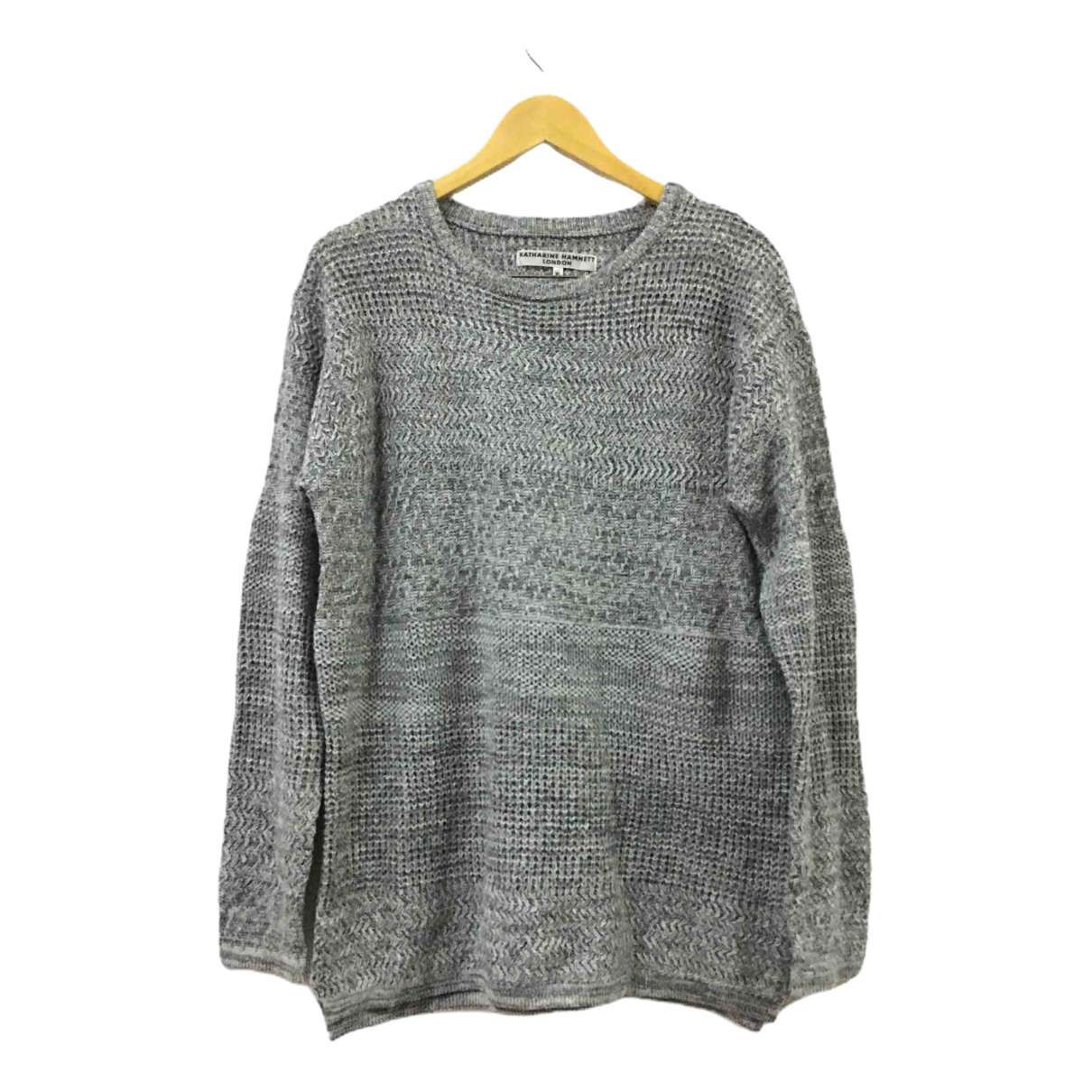 Katharine Hamnett \N Pullover.Westen.Sweatshirts  in  Grau Wolle