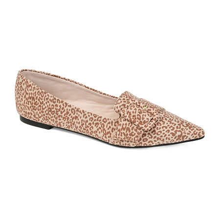 Journee Collection Womens Audrey Slip-on Pointed Toe Loafers, 6 Medium, Multiple Colors