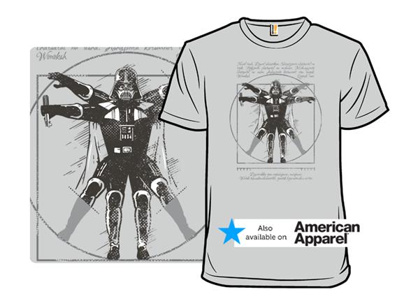 Vitruvian Dark Lord T Shirt