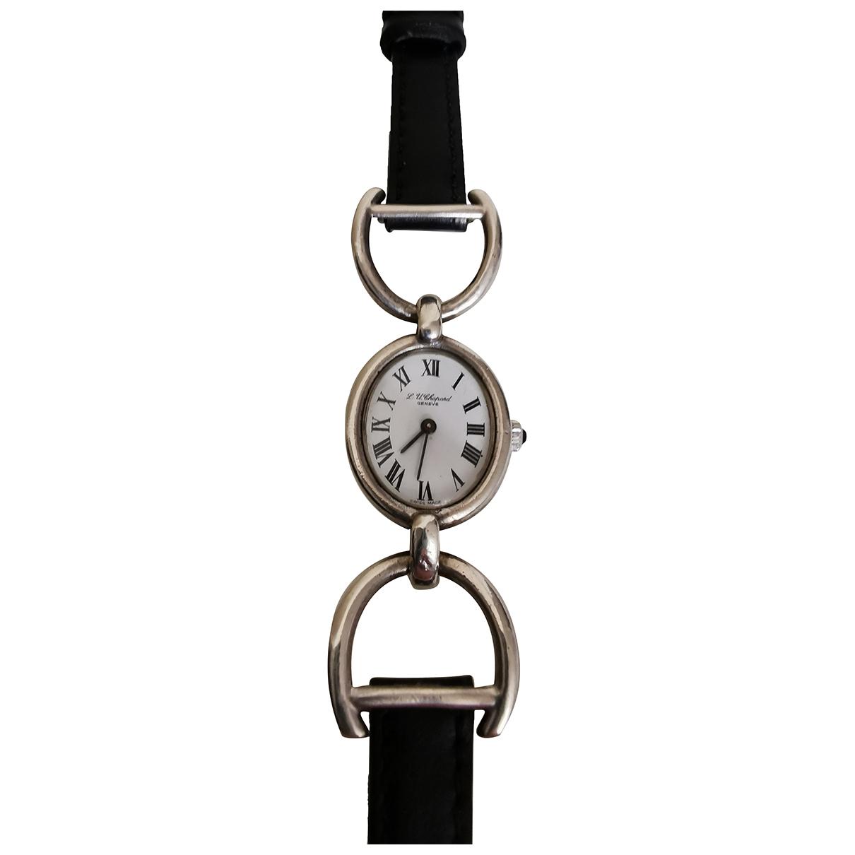 Chopard \N Silver Silver watch for Women \N