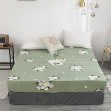 Daisy Flower Print Fitted Sheet