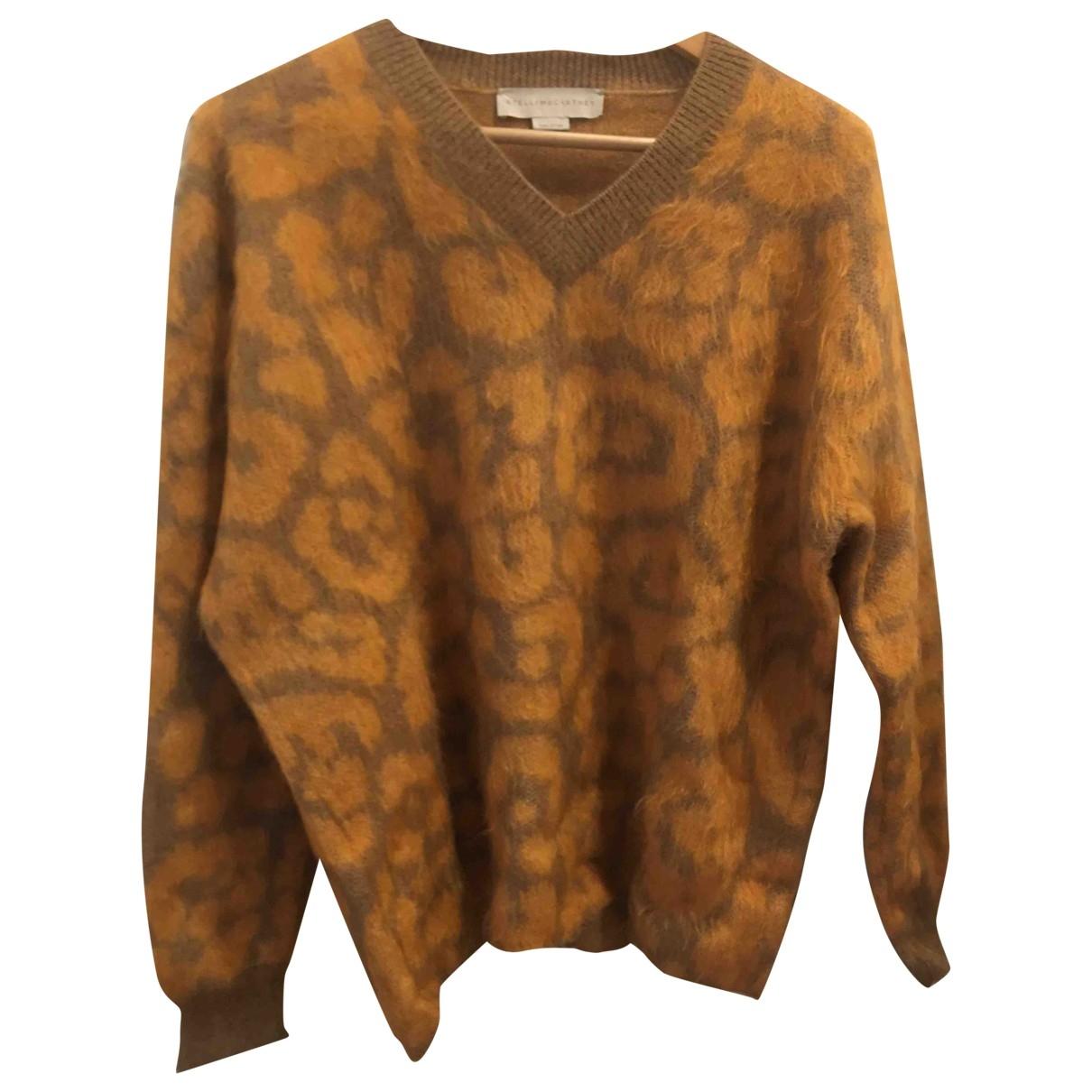 Stella Mccartney \N Orange Wool Knitwear for Women 42 FR