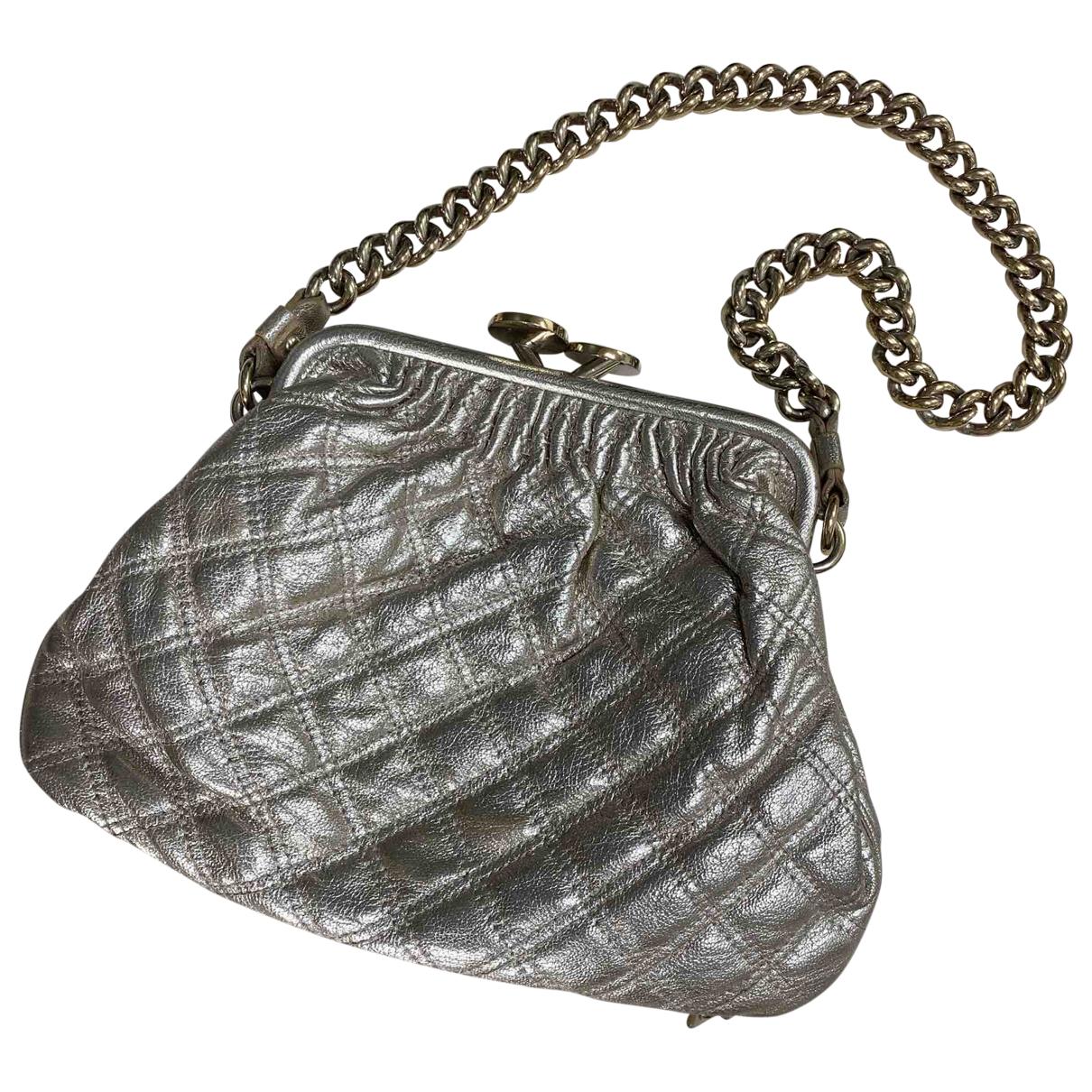 Marc Jacobs Stam Gold Glitter handbag for Women \N