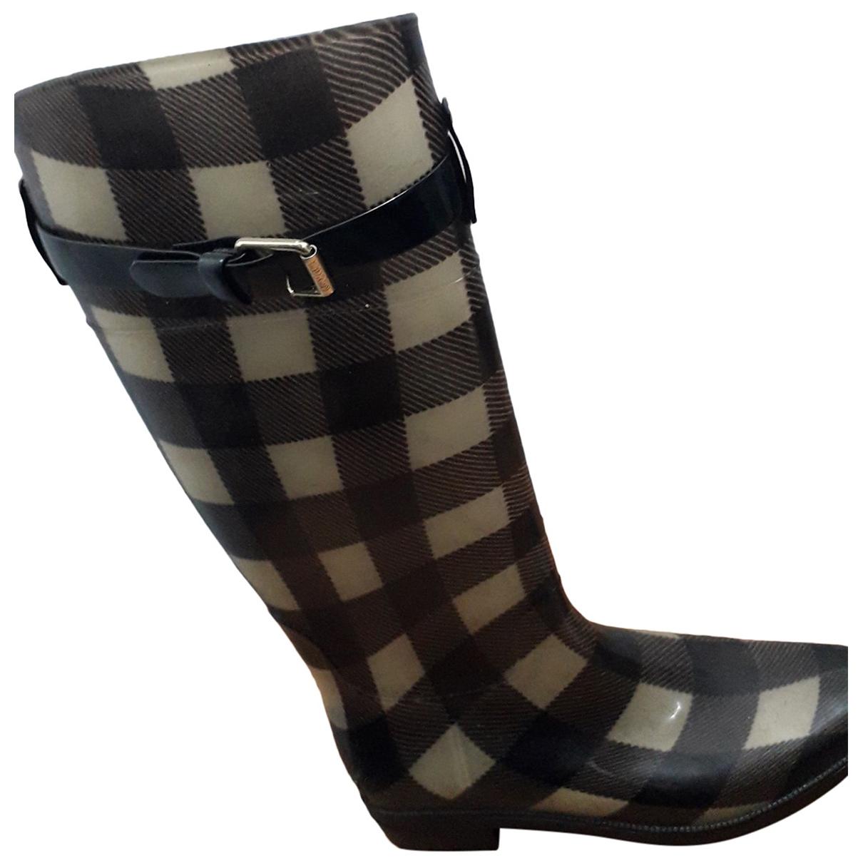 Lauren Ralph Lauren \N Brown Rubber Boots for Women 7 US