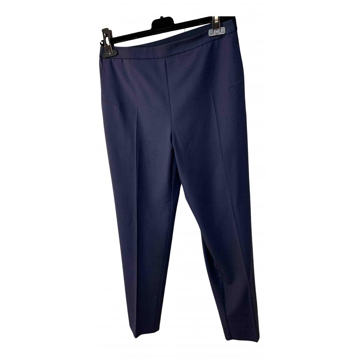 Maison Martin Margiela N Blue Trousers for Women 38 FR