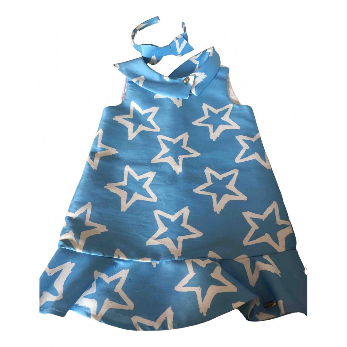 Pili Carrera - Robe    pour enfant - bleu