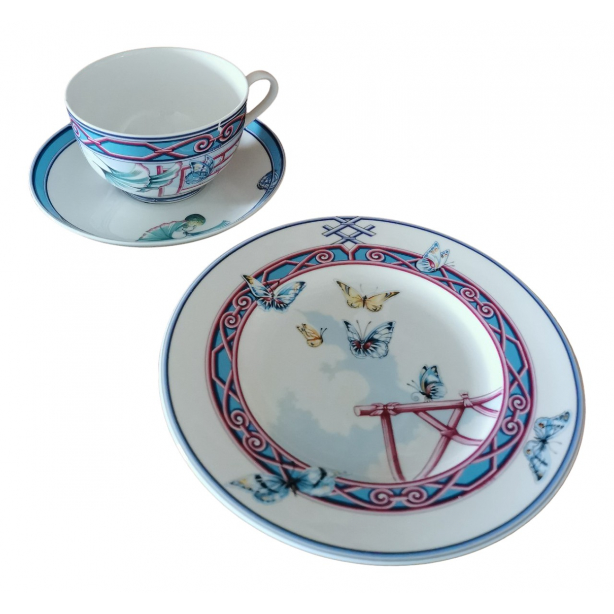 Hermes \N Tischkultur in  Bunt Porzellan