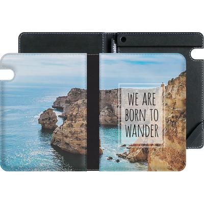 Amazon Kindle Voyage eBook Reader Huelle - Born to Wander von Joel Perroden