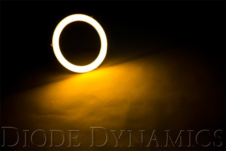 Diode Dynamics DD2024 Halo Lights LED 70mm Amber Pair