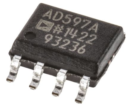Analog Devices AD597ARZ , Instrumentation Amplifier 15kHz, 5  30 V, 8-Pin SOIC