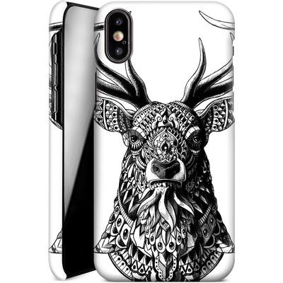 Apple iPhone X Smartphone Huelle - Ornate Buck von BIOWORKZ